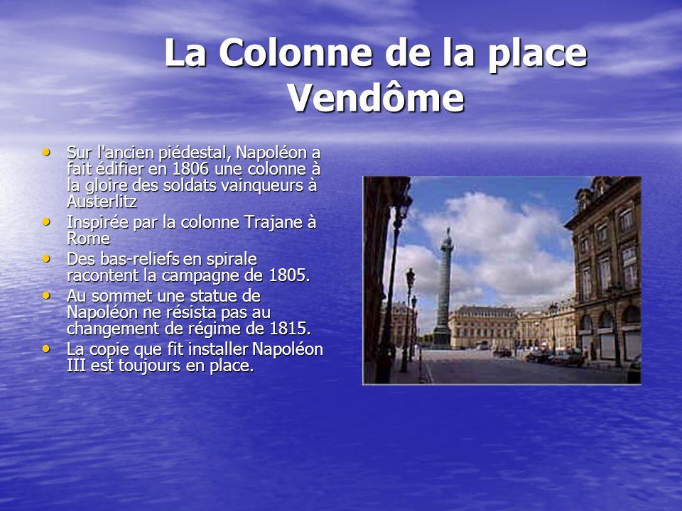 La Colonne de la place Vendôme