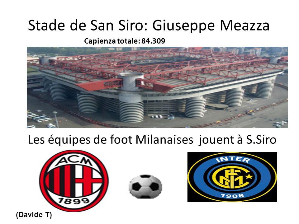 Stade de San Siro: Giuseppe Meazza