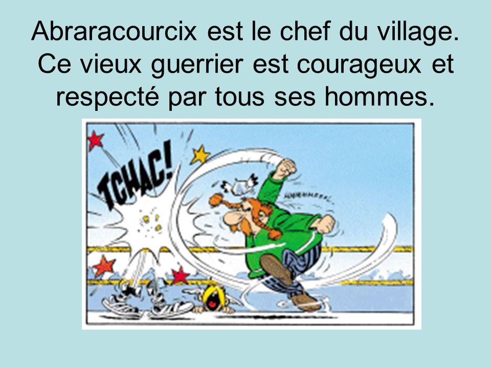 Abraracourcix est le chef du village