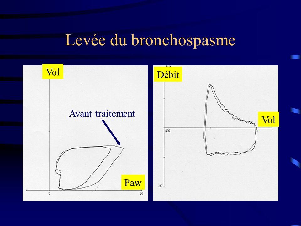 Levée du bronchospasme
