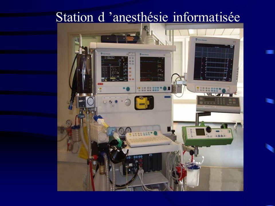 Station d 'anesthésie informatisée