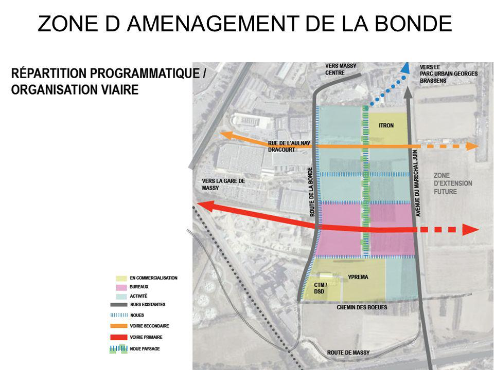 ZONE D AMENAGEMENT DE LA BONDE