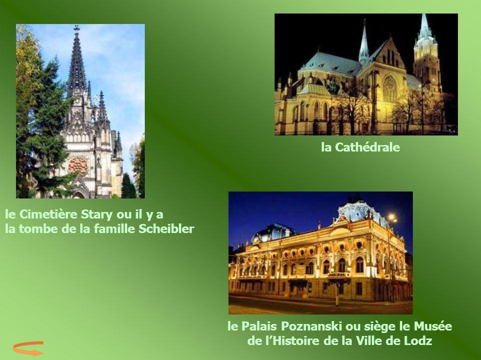 la Cathédrale le Cimetière Stary ou il y a la tombe de la famille Scheibler.