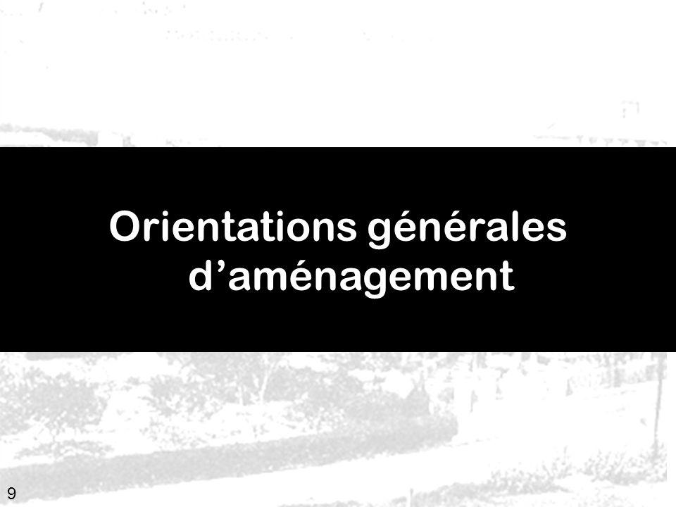 Orientations générales d'aménagement