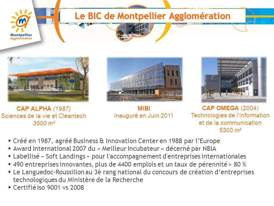 Le BIC de Montpellier Agglomération