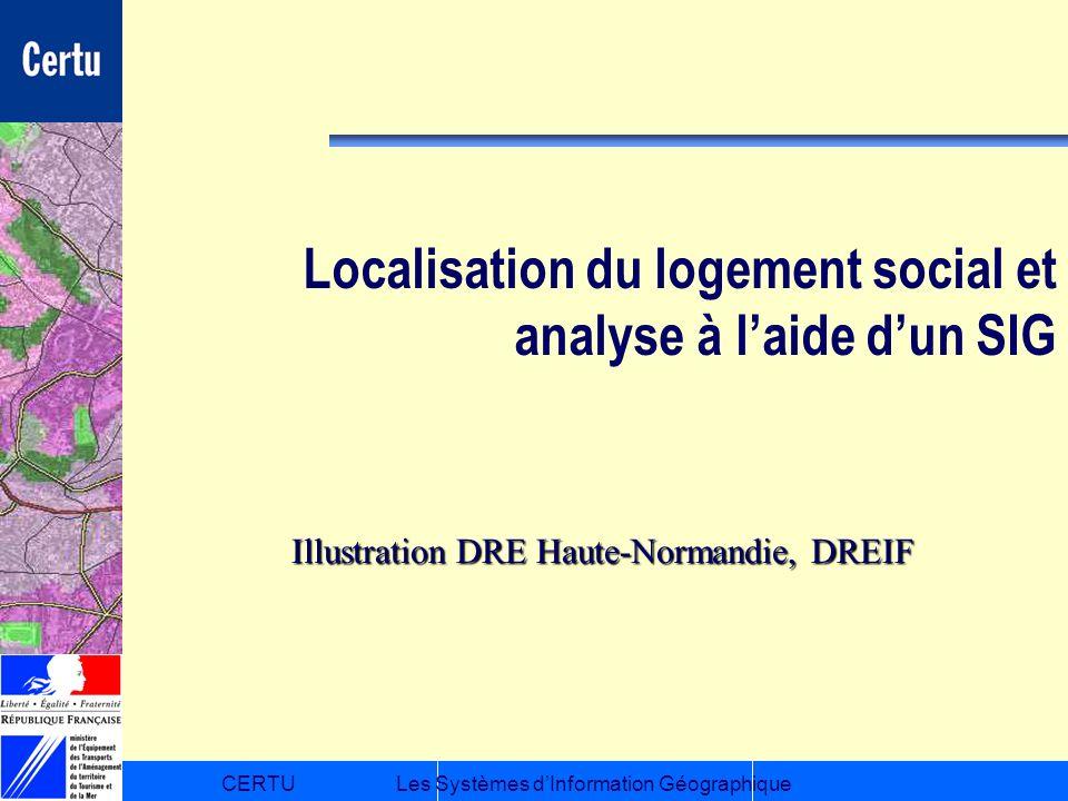 Localisation du logement social et analyse à l'aide d'un SIG