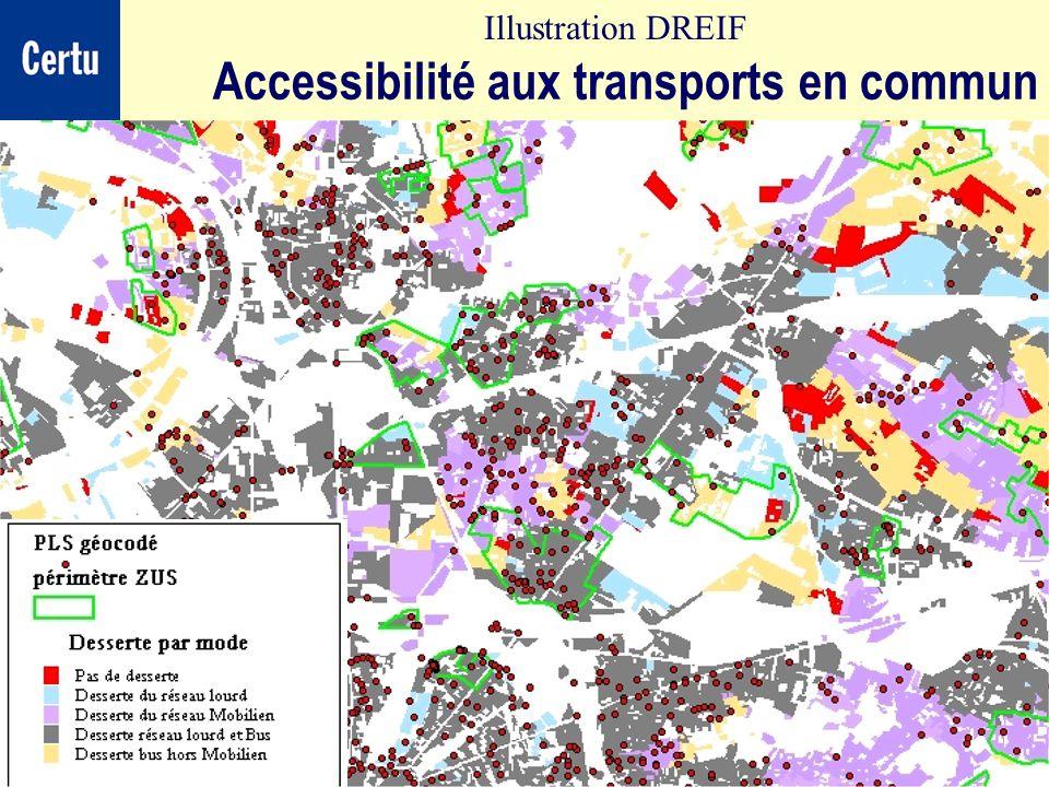 Accessibilité aux transports en commun
