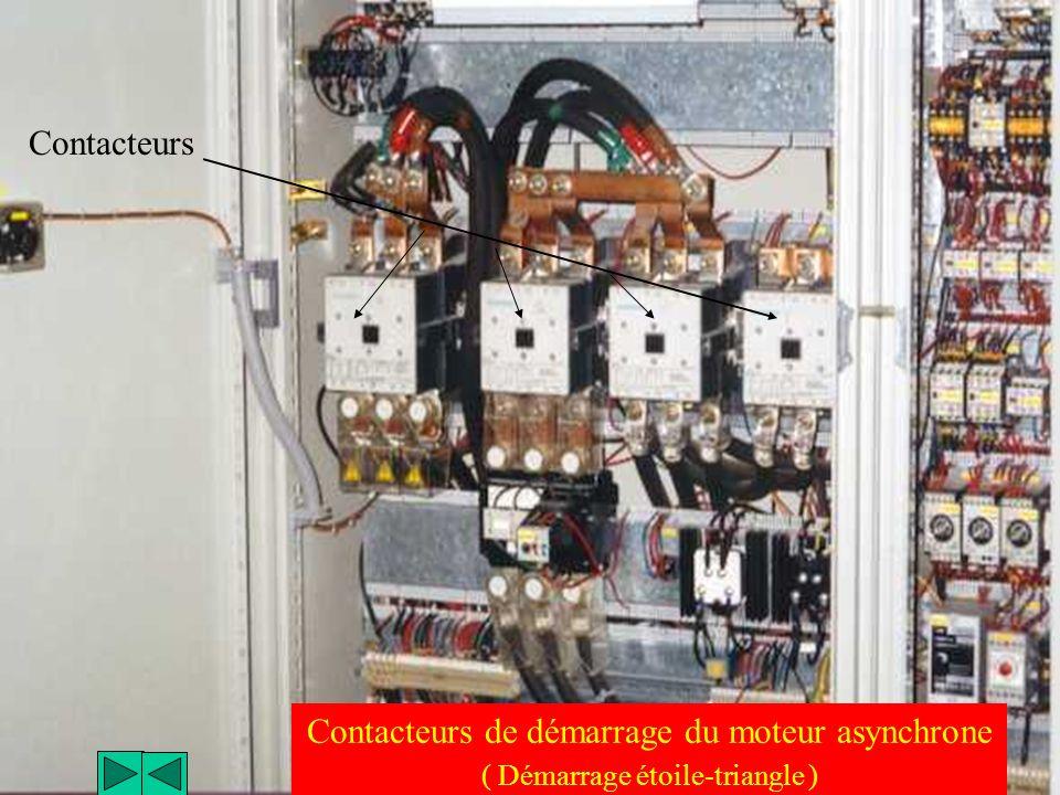 Contacteurs de démarrage du moteur asynchrone