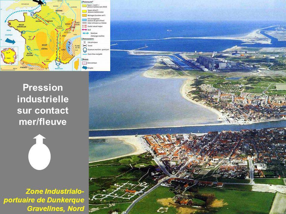 Pression industrielle sur contact mer/fleuve
