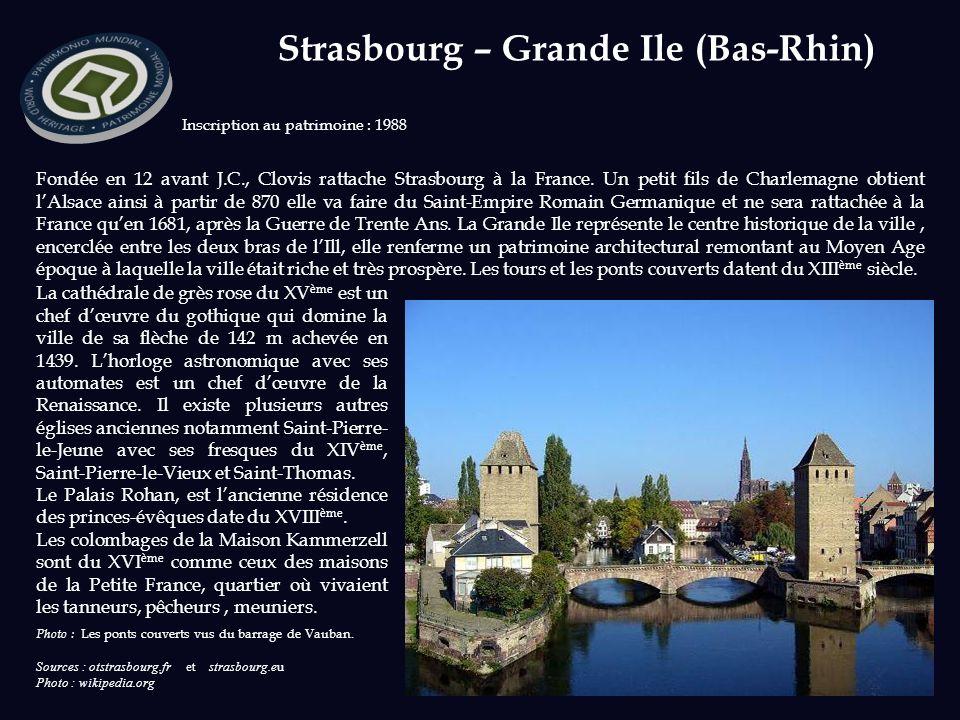 Strasbourg – Grande Ile (Bas-Rhin)