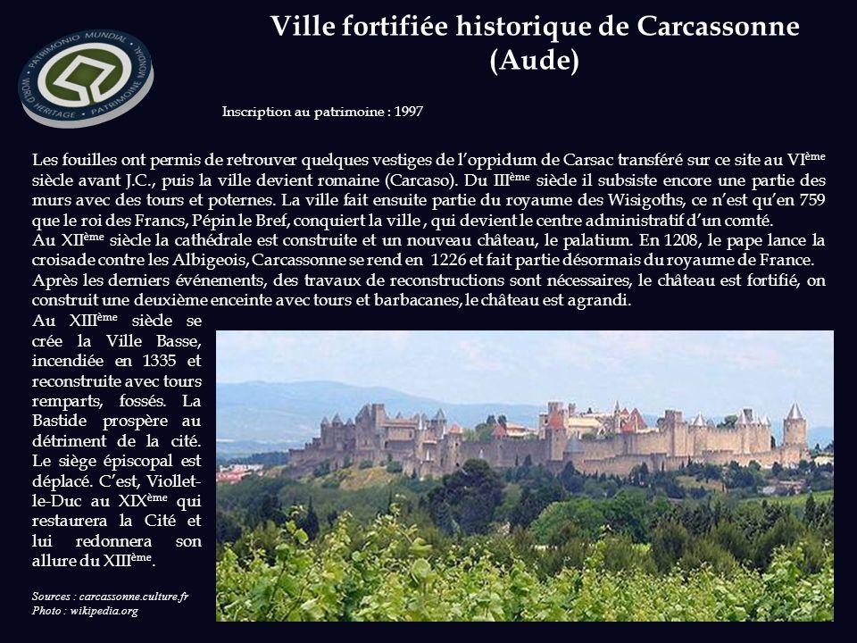 Ville fortifiée historique de Carcassonne (Aude)