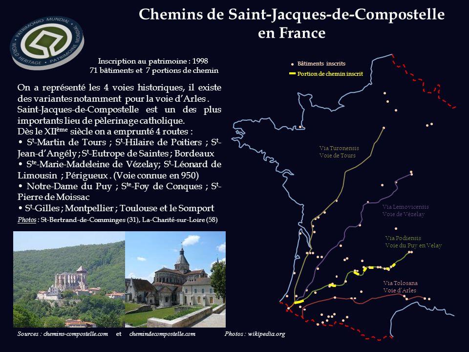 Chemins de Saint-Jacques-de-Compostelle en France