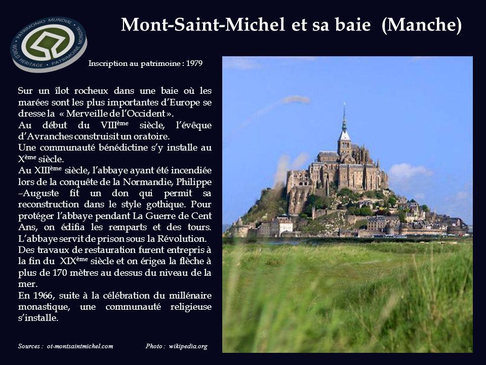 Mont-Saint-Michel et sa baie (Manche)