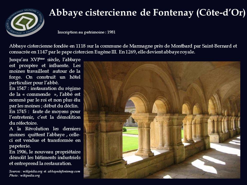 Abbaye cistercienne de Fontenay (Côte-d'Or)