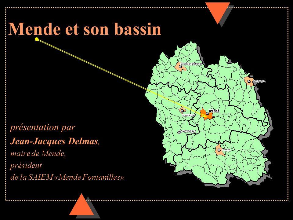 Mende et son bassin présentation par Jean-Jacques Delmas,