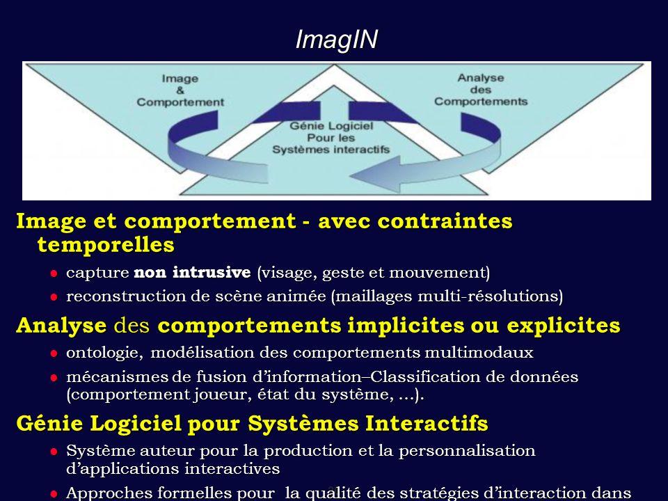 ImagIN Image et comportement - avec contraintes temporelles
