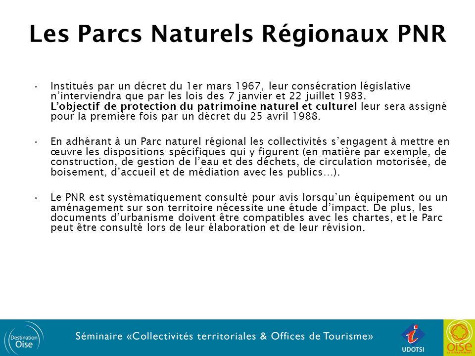 Les Parcs Naturels Régionaux PNR