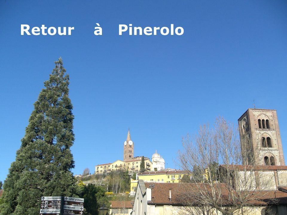 Retour à Pinerolo