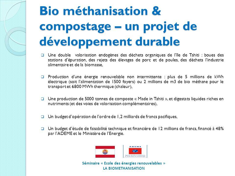 Bio méthanisation & compostage – un projet de développement durable