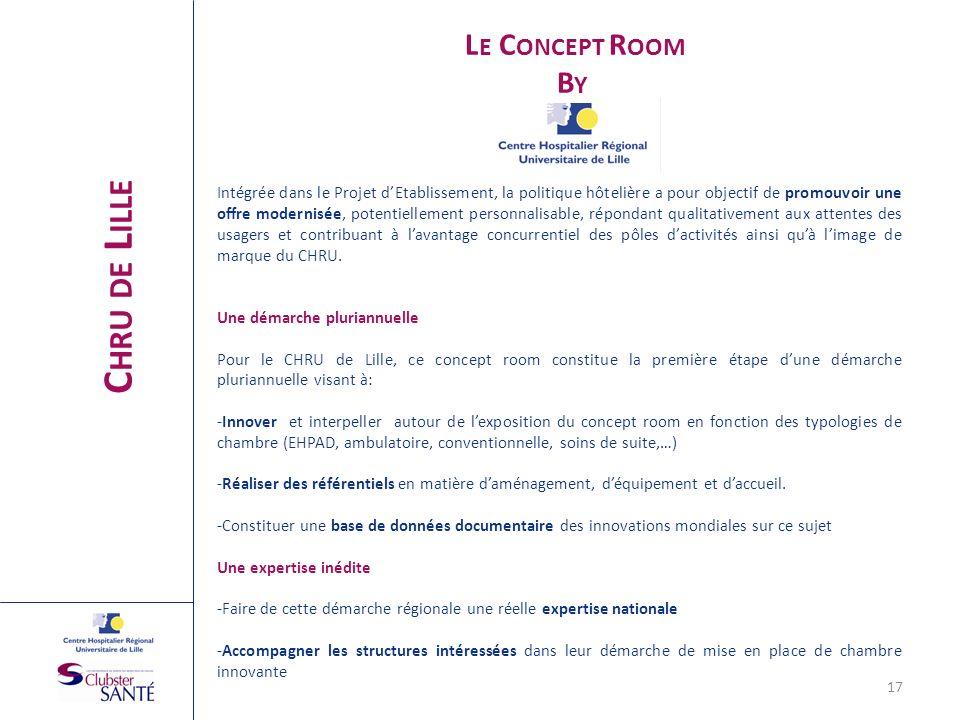 Chru de Lille By Le Concept Room