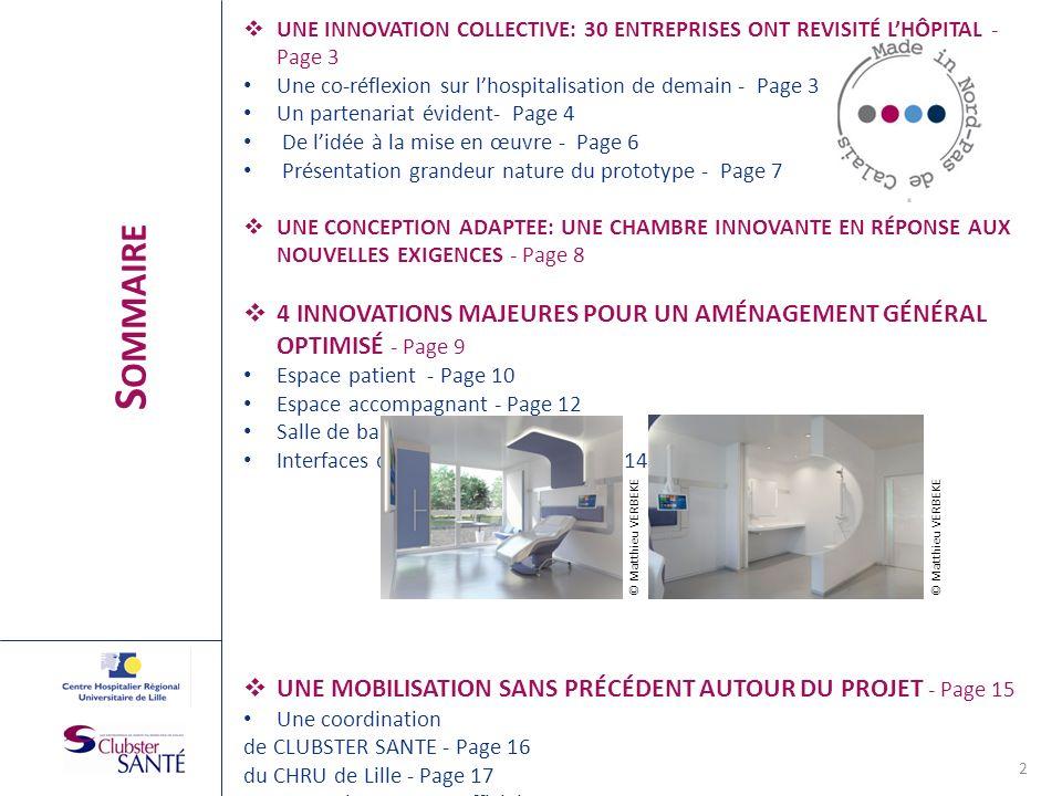 UNE INNOVATION COLLECTIVE: 30 ENTREPRISES ONT REVISITÉ L'HÔPITAL - Page 3