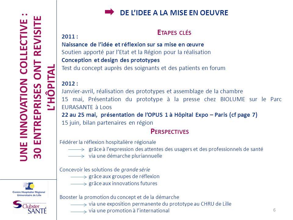 UNE INNOVATION COLLECTIVE : 30 ENTREPRISES ONT REVISITE L'HÔPITAL