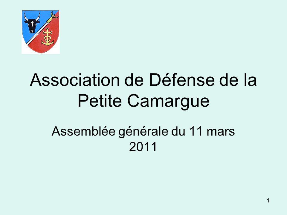 Association de Défense de la Petite Camargue