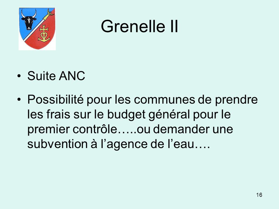 Grenelle II Suite ANC.