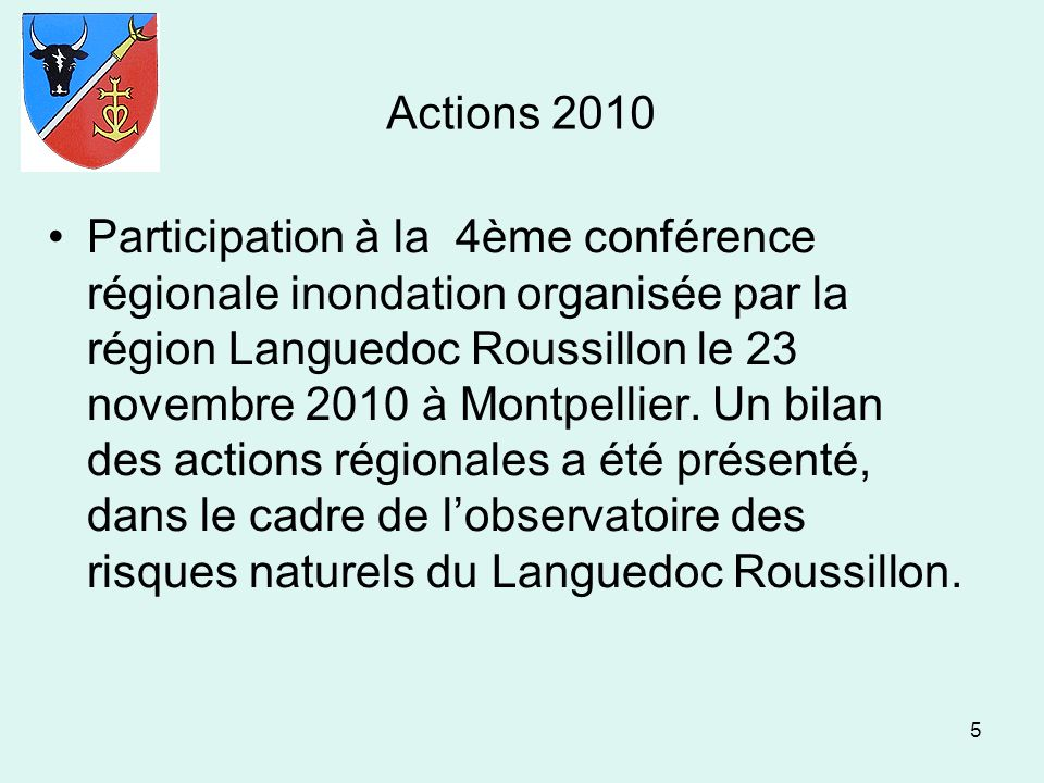 Actions 2010