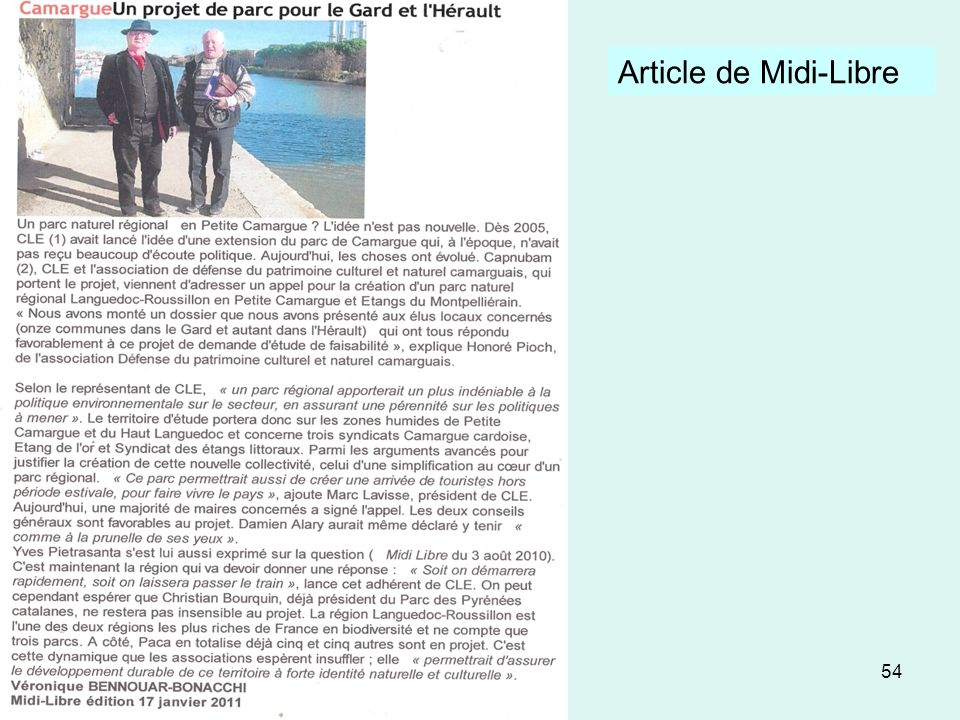 Article de Midi-Libre
