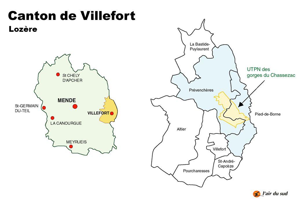 Canton de Villefort Lozère