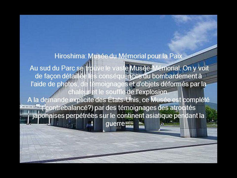 Hiroshima: Musée du Mémorial pour la Paix