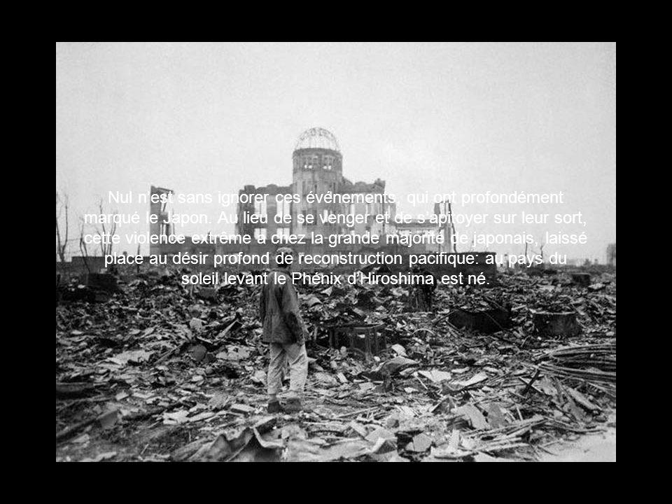 Nul n'est sans ignorer ces événements, qui ont profondément marqué le Japon.