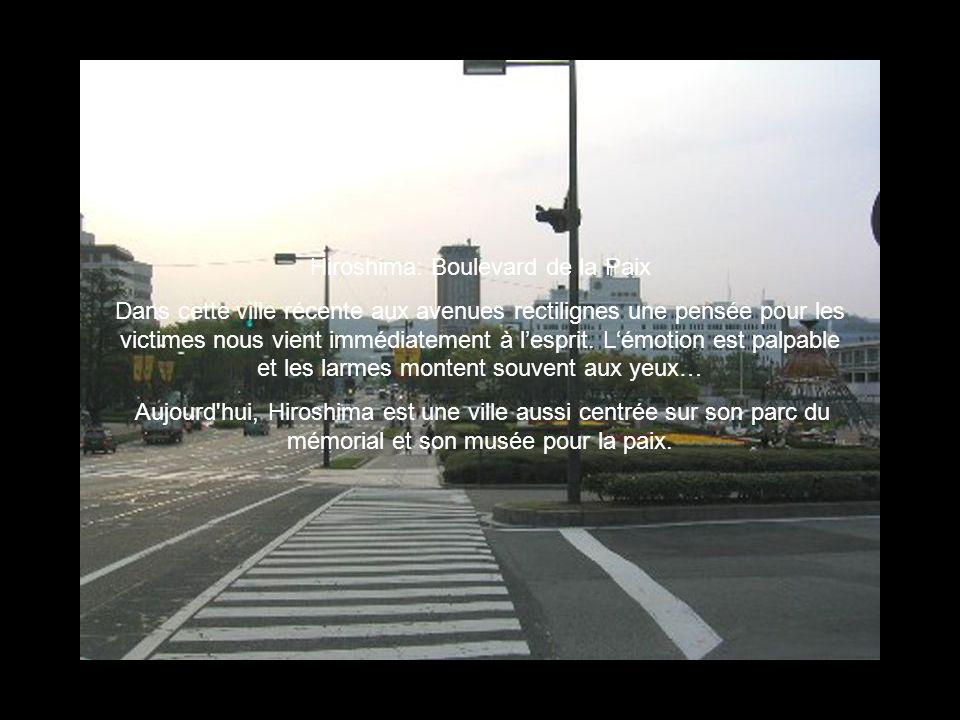 Hiroshima: Boulevard de la Paix