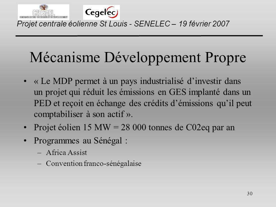 Mécanisme Développement Propre