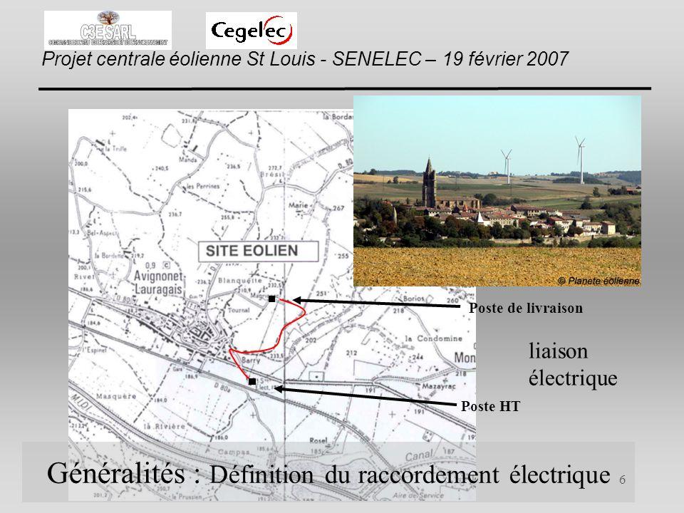 Généralités : Définition du raccordement électrique