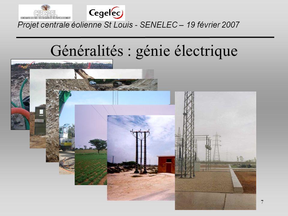Généralités : génie électrique