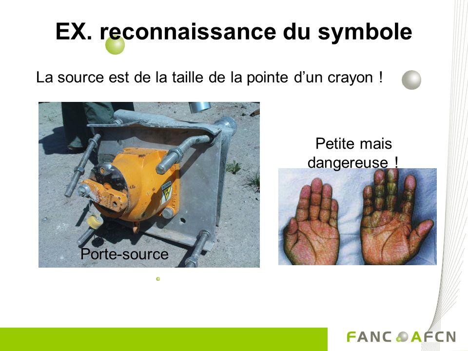 EX. reconnaissance du symbole