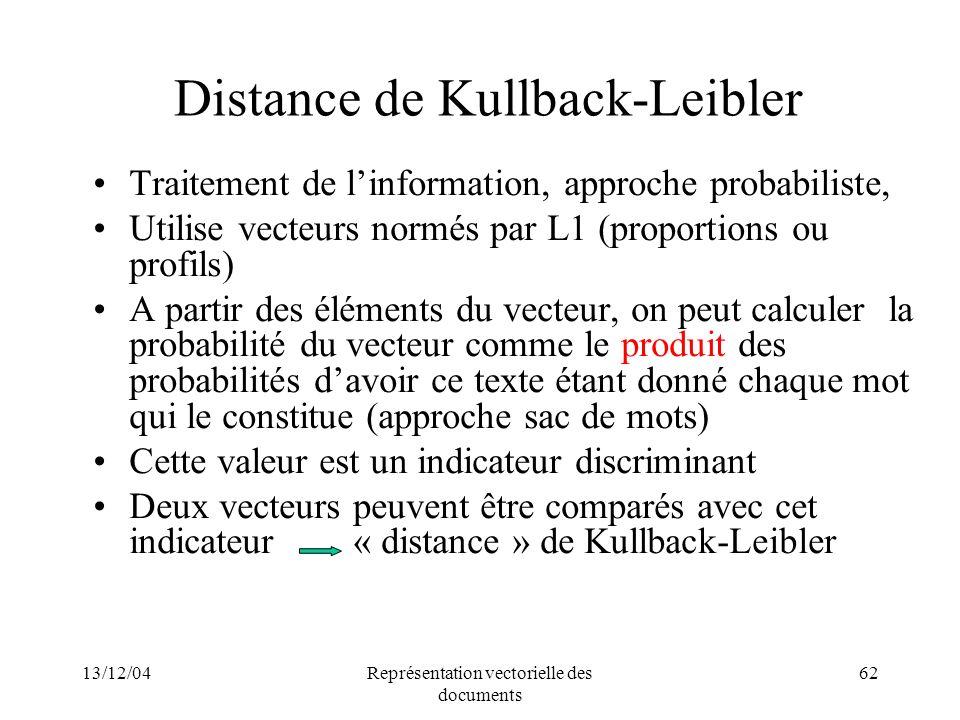 Distance de Kullback-Leibler