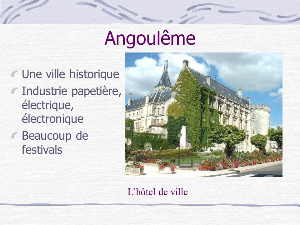 Angoulême Une ville historique