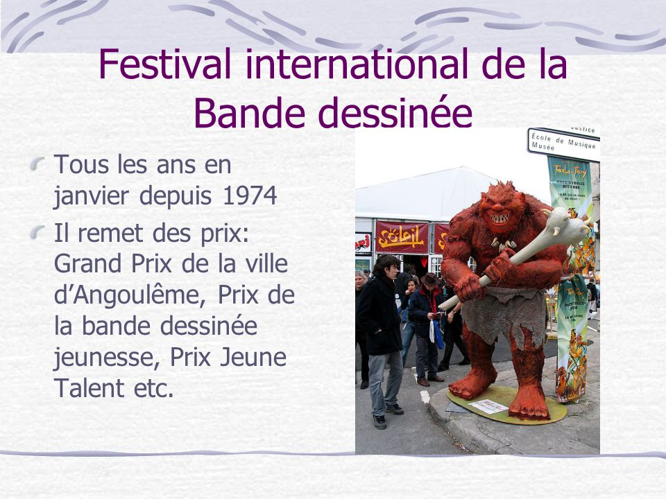 Festival international de la Bande dessinée
