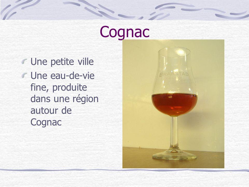 Cognac Une petite ville