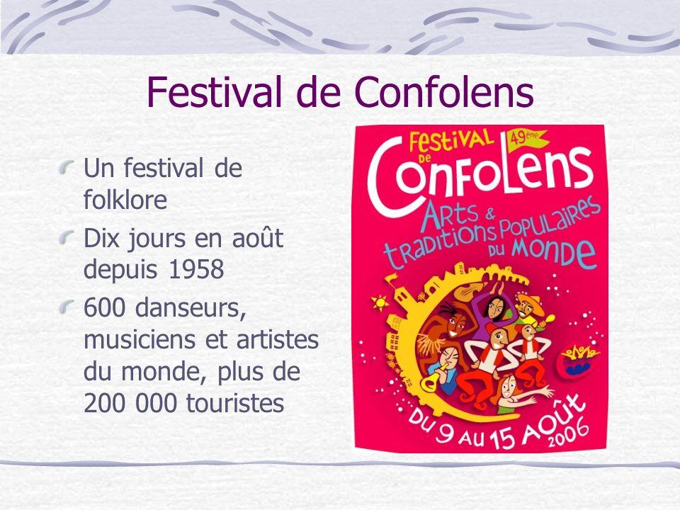 Festival de Confolens Un festival de folklore