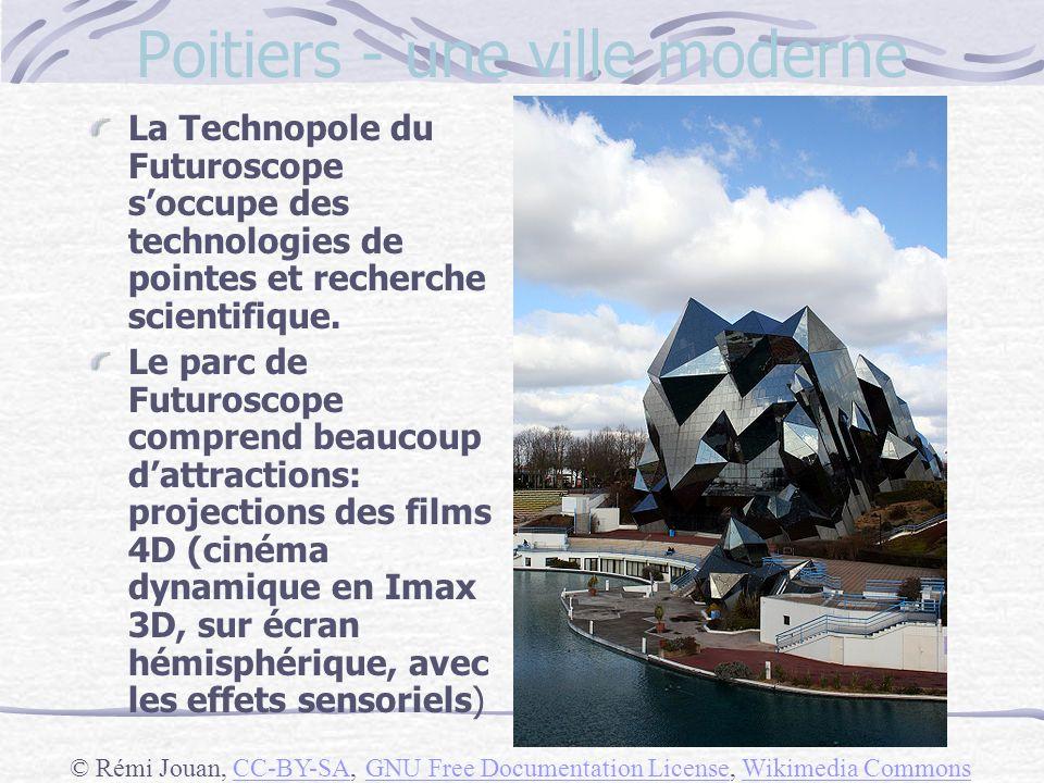 Poitiers - une ville moderne