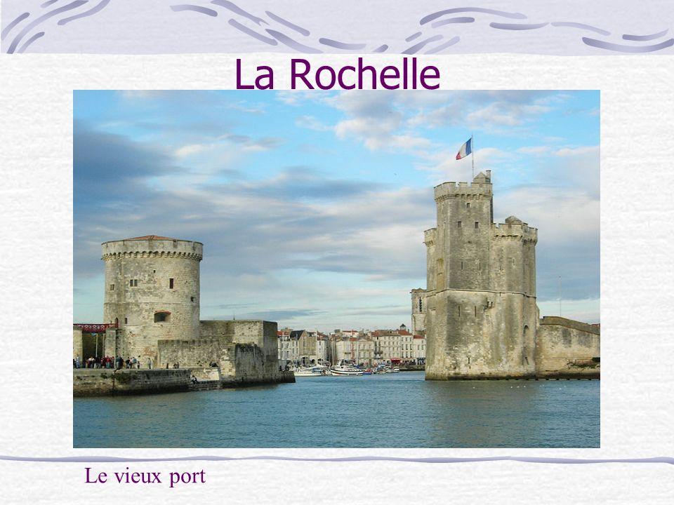 La Rochelle Le vieux port