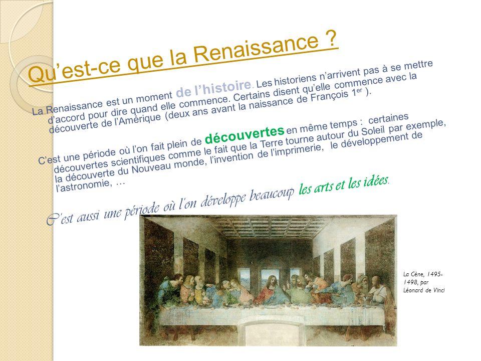 Qu'est-ce que la Renaissance