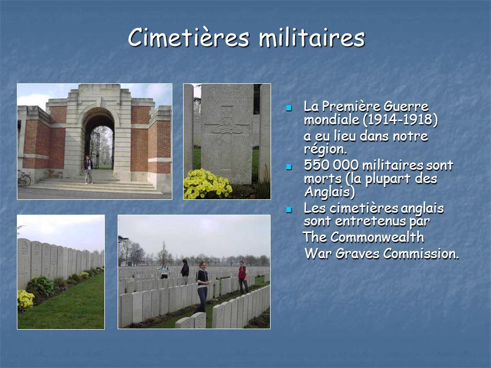 Cimetières militaires