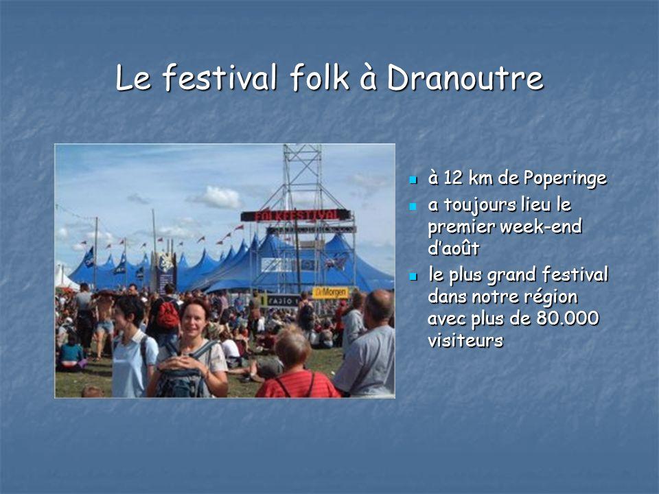 Le festival folk à Dranoutre