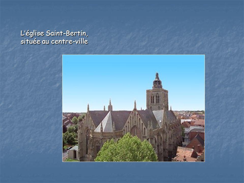L'église Saint-Bertin,