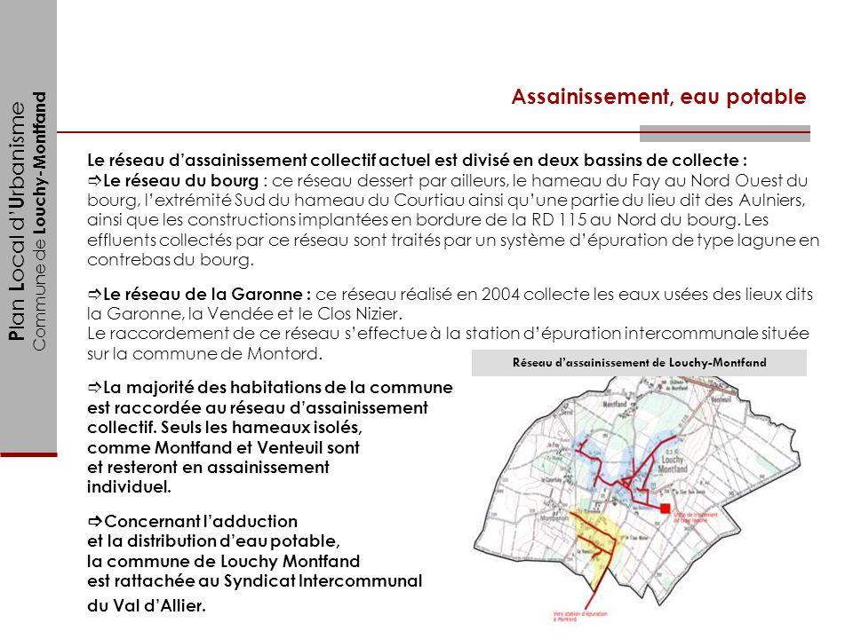 Réseau d'assainissement de Louchy-Montfand